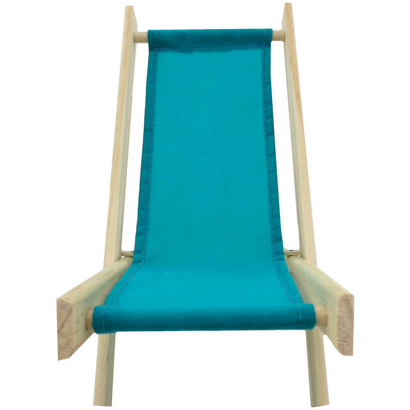 Teal Wood Chair