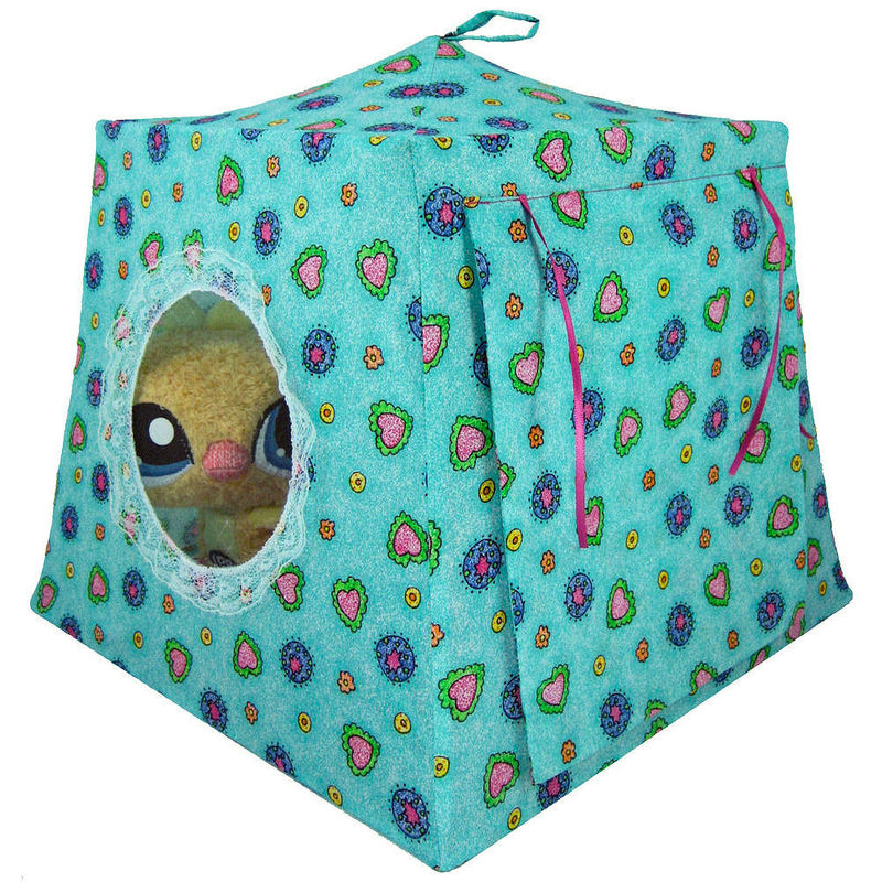 children s stuffed animal chairs french louis for sale aqua print toy pop up tents girls collection - and