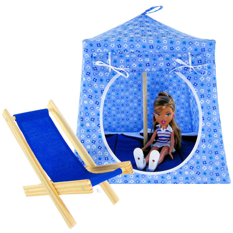 children s stuffed animal chairs black spindle back australia blue print toy pop up tents for girls collection - and