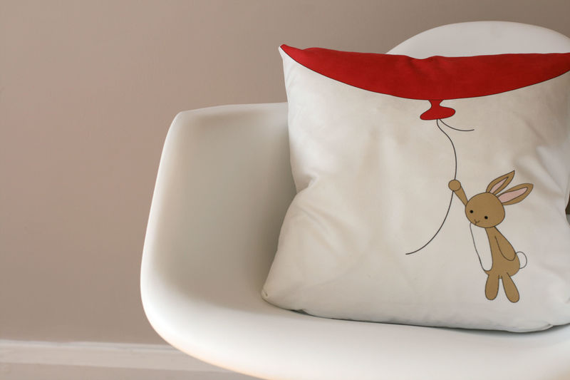 Cute Rabbit cushion  pillow  throw pillow  Easter decor