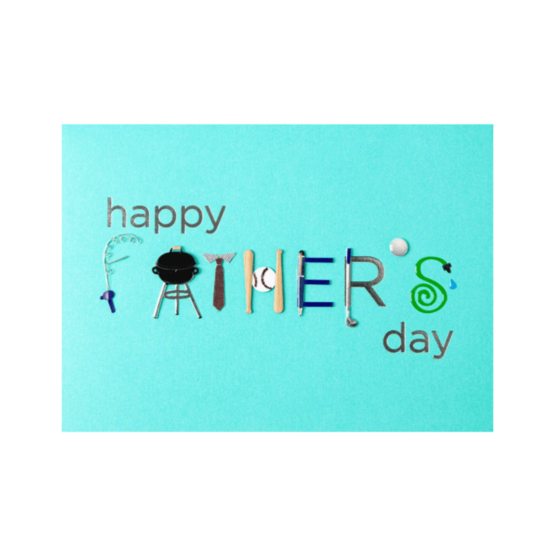 Handmade Fathers Day Typography Anas Papeterie
