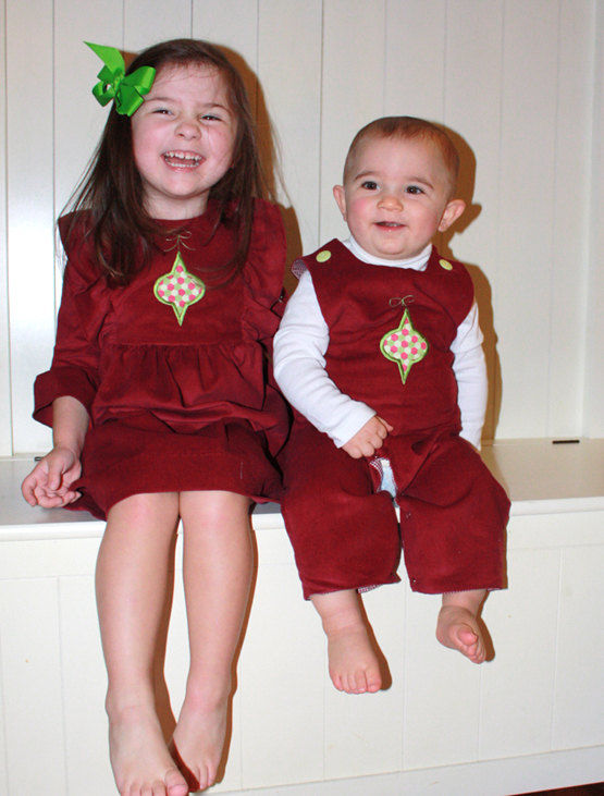 baby christmas outfit matching
