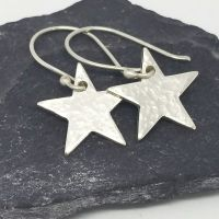 Sterling Silver Star Earrings - MaisyPlum