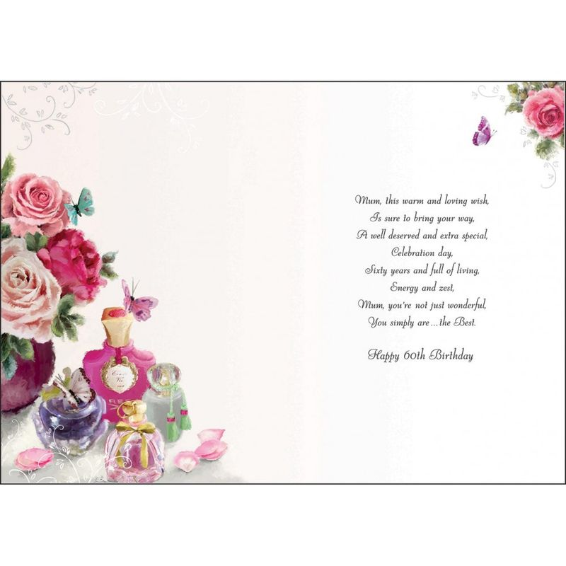 Mum 60th Birthday Card Karenza Paperie