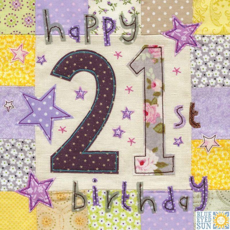 happy 21st birthday card