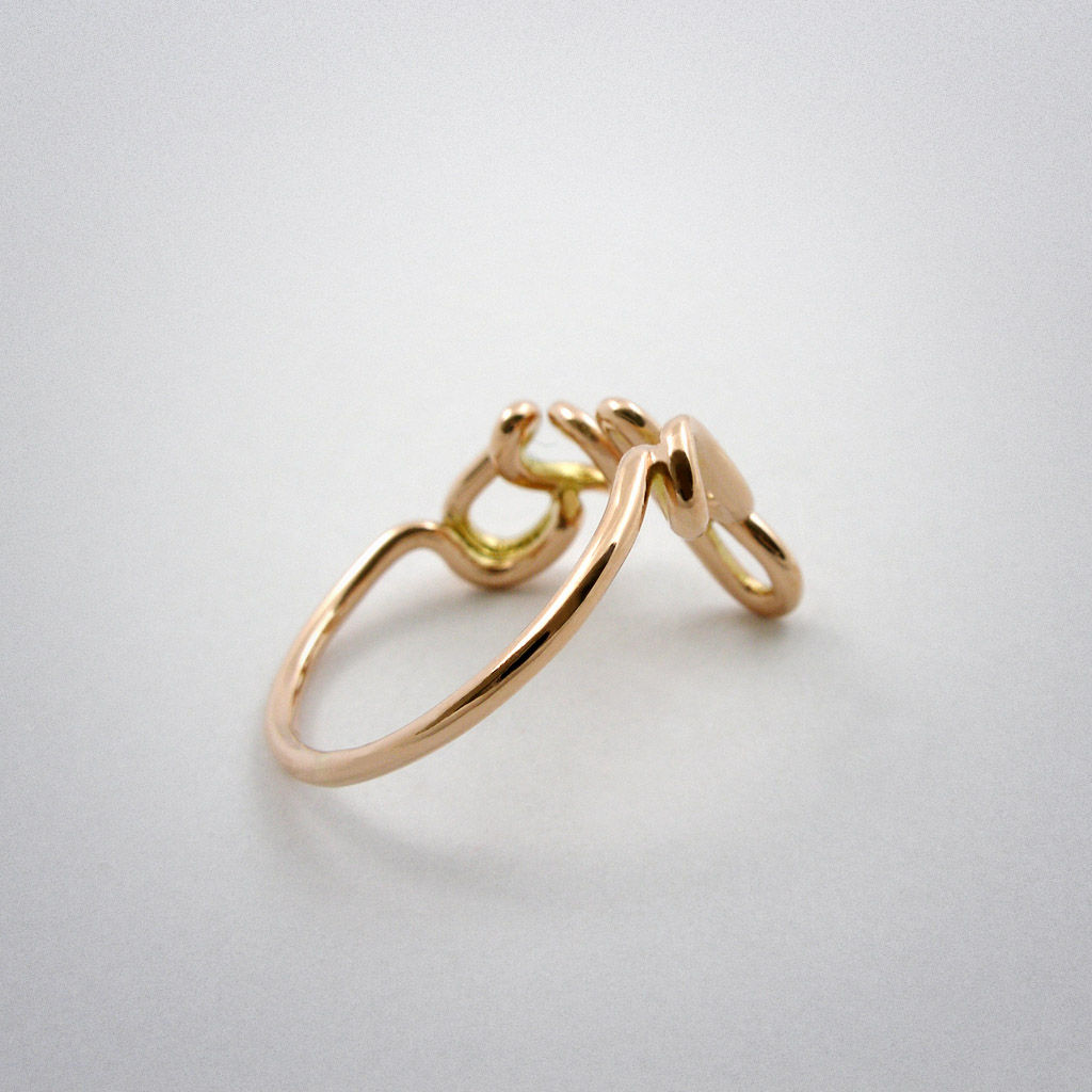 ring  Yes Rotgold  MOQUII