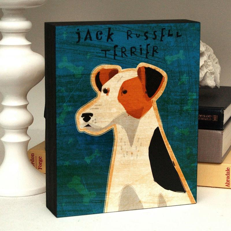 Whimsical Dog Art Box - Pick Pooch 8 In X 10