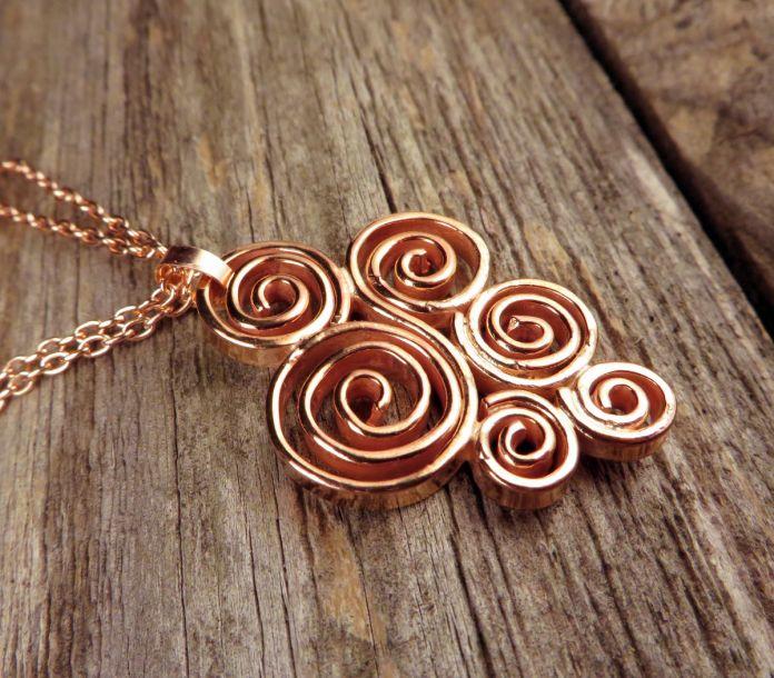 Imagini pentru copper jewelry