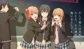 2 Yahari Ore no Seishun Love Comedy wa Machigatteiru Kan Segunda Temporada Estrenos Verano