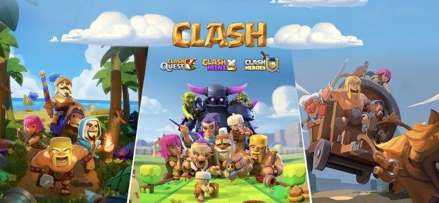 clash 3 2436x1125 - L'universo Supercell si espande: in arrivo tre nuovi CLASH games!