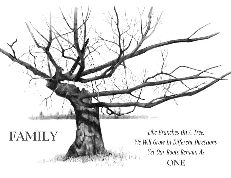 Fun Layout Ideas for Your Family Tree » Early Childhood