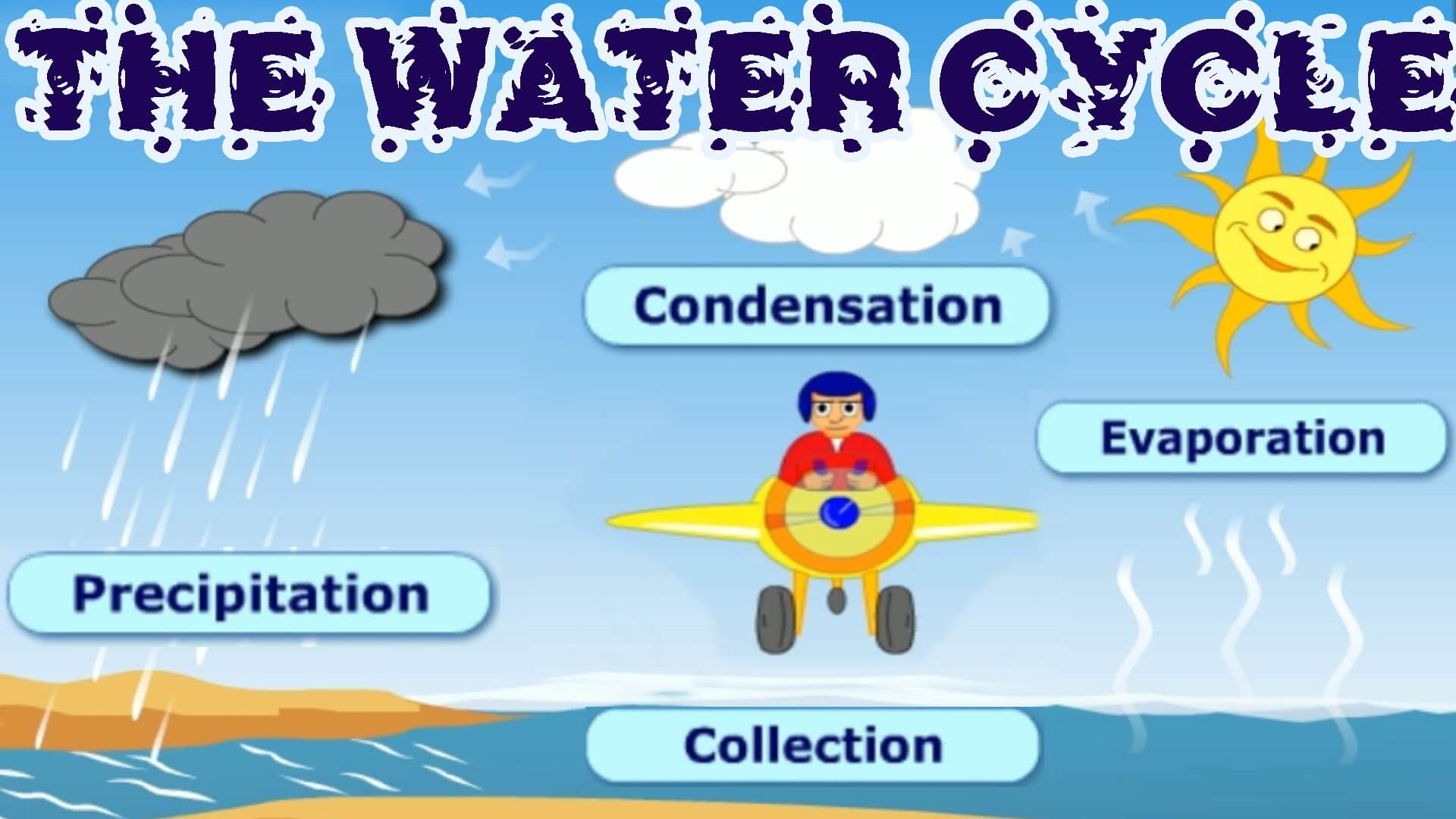 The Water Cycle Video Surfnetkids