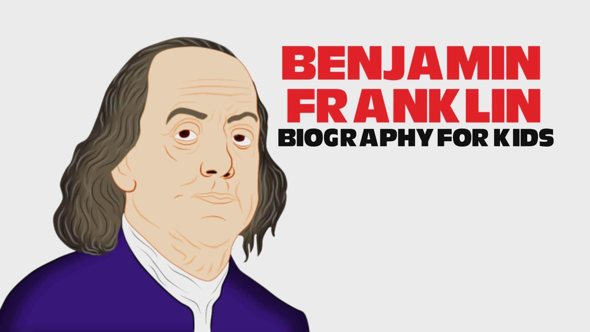 Benjamin Franklin Cartoon For Children Video Surfnetkids