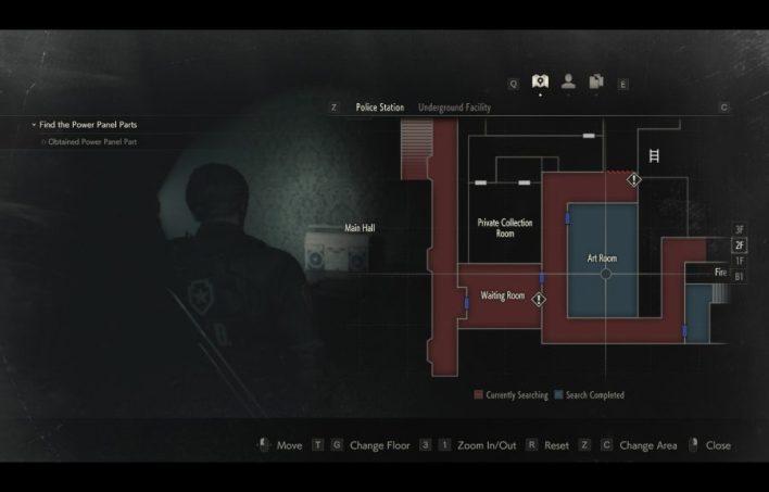 Art Room 2F Resident Evil 2