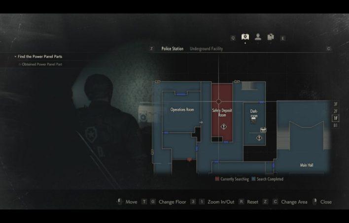 Safety Deposit Room 1F Resident Evil 2