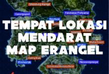Photo of 7 Lokasi Tempat Mendarat Map Erangel PUBG