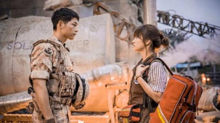 drama Korea tentang dokter Descendent of the sun