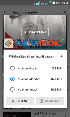 langkah 1 - cara download video youtube ke galeri di android