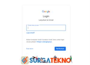 login akun google atau gmail