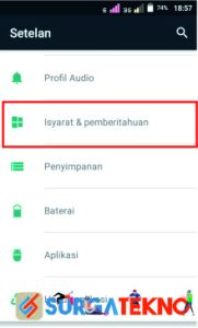 cara menonaktifkan notifikasi google chrome di android