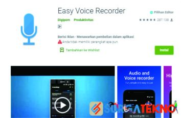 aplikasi easy voice recorder