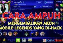 Photo of Cara Mengembalikan Akun Mobile Legends yang di-Hack, Dijamin Ampuh!