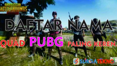 Photo of Daftar Ide Nama Squad PlayerUnknown's Battlegrounds Paling Keren