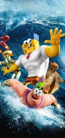 wallpaper tema smartphone poni - spongebob movie