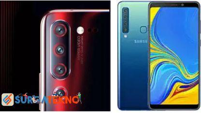 daftar smartphone terbaru dengan empat kamera
