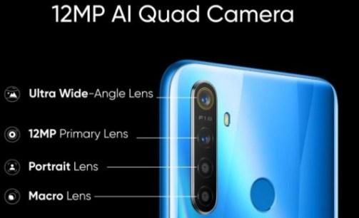 realme 5 quad camera