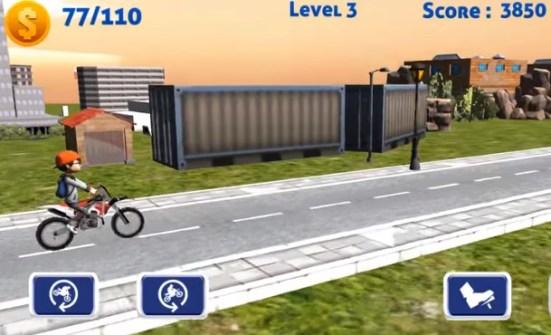 Bike Trail Stunt Tricks Moto Racing Games