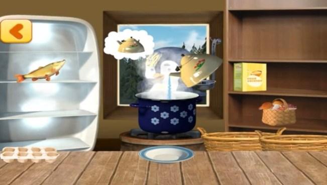 Masha Cooking