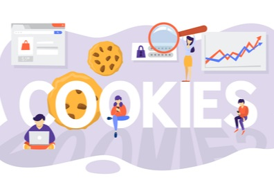 Ilustrasi Cookies pada Browser