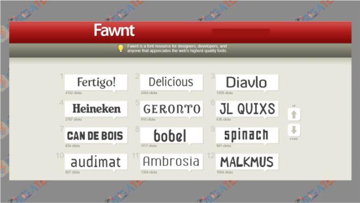 Fawnt - Tempat untuk Download Font Keren