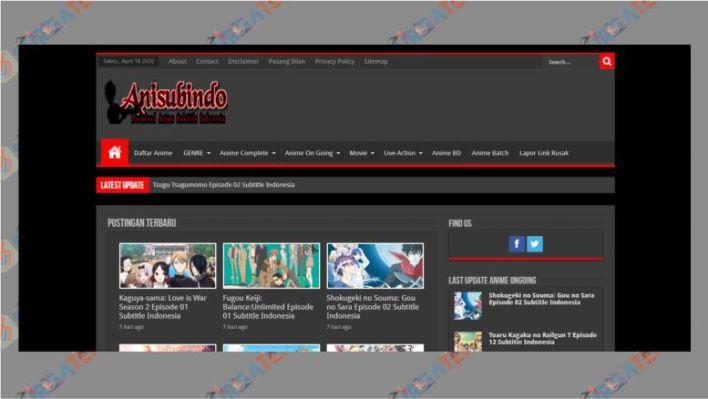 Situs Download Anime Anisubindo