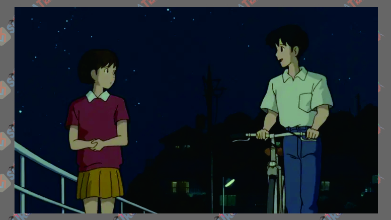 Cuplikan Film Animasi Whisper of the Heart (1995)