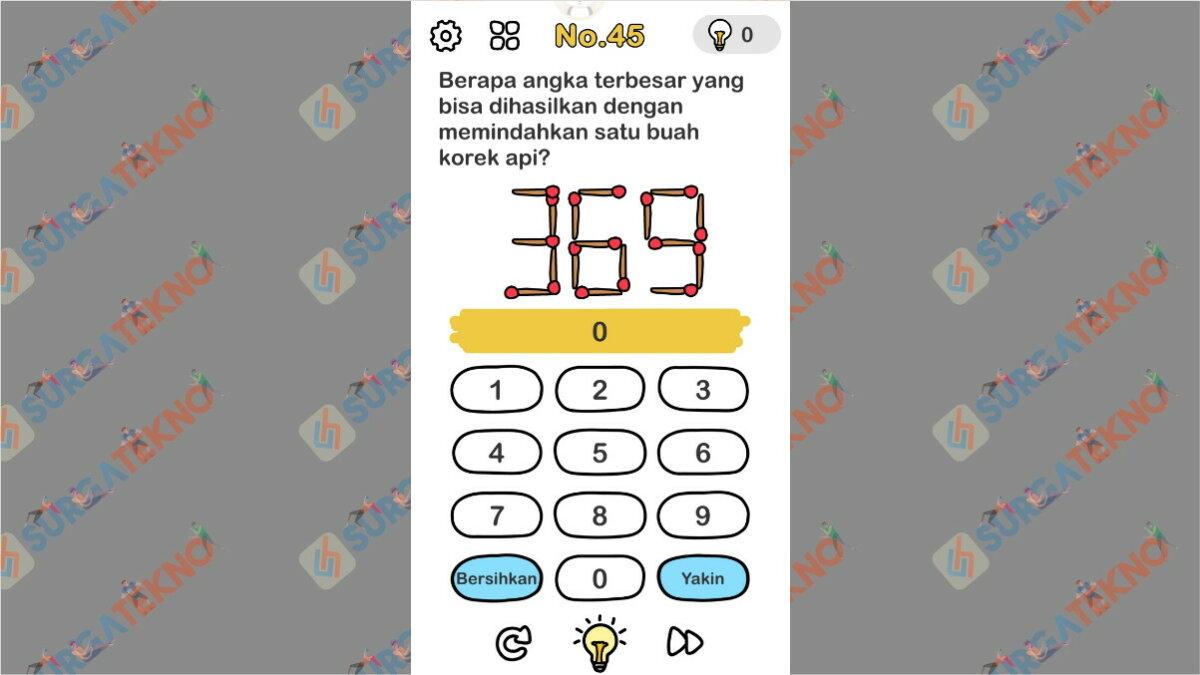 Kunci jawaban brain out level 45. Kunci Jawaban Berapa Angka Terbesar yang Dihasilkan dengan