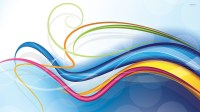 Colorful swirls wallpaper - Abstract wallpapers - #24003