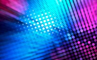 Neon dots wallpaper - Abstract wallpapers - #20197