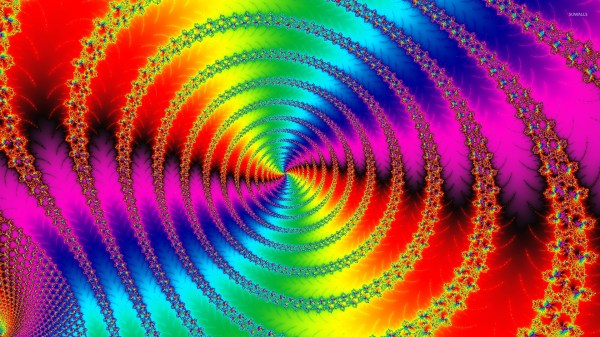 Abstract Spiral Wallpapers 60 3d