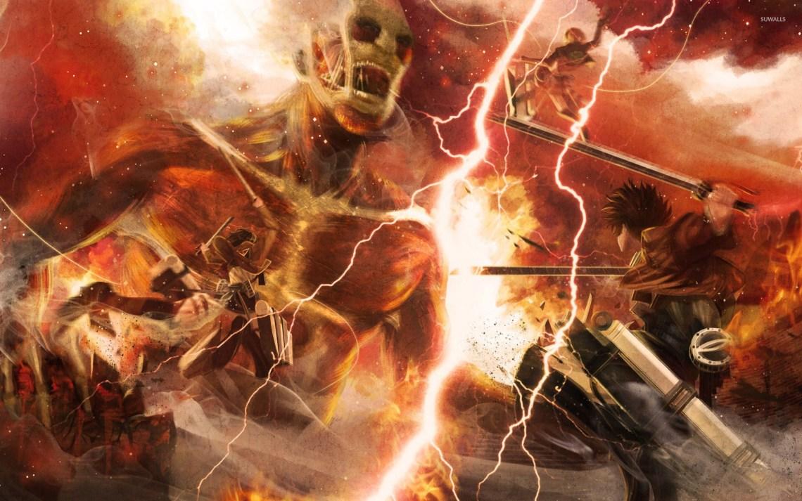 23 Anime Wallpaper 4k Attack On Titan Tachi Wallpaper