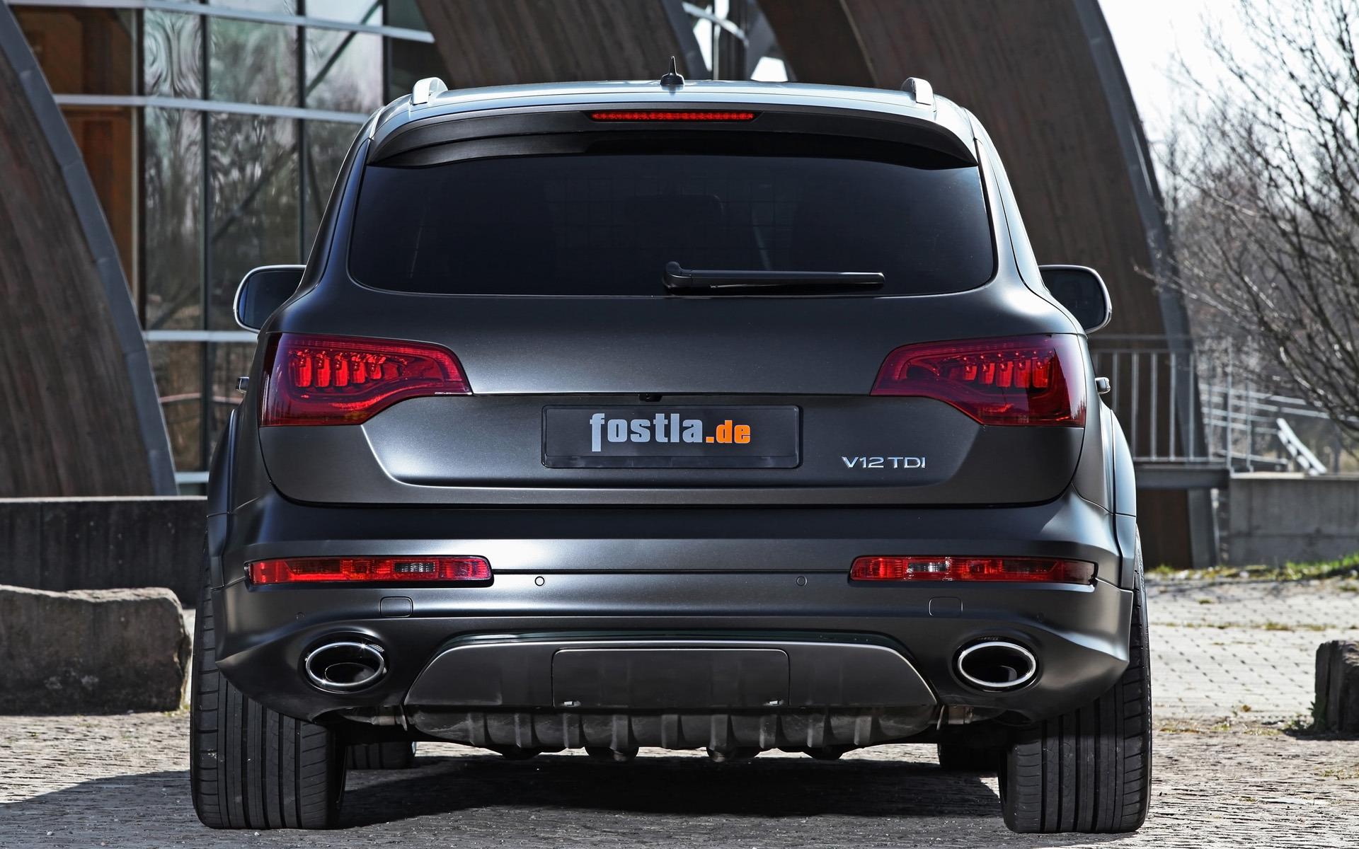 Our audi dealer is a proud member of the penske automotive group. 2012 Fostla Audi Q7 Back View Wallpaper Car Wallpapers 48759