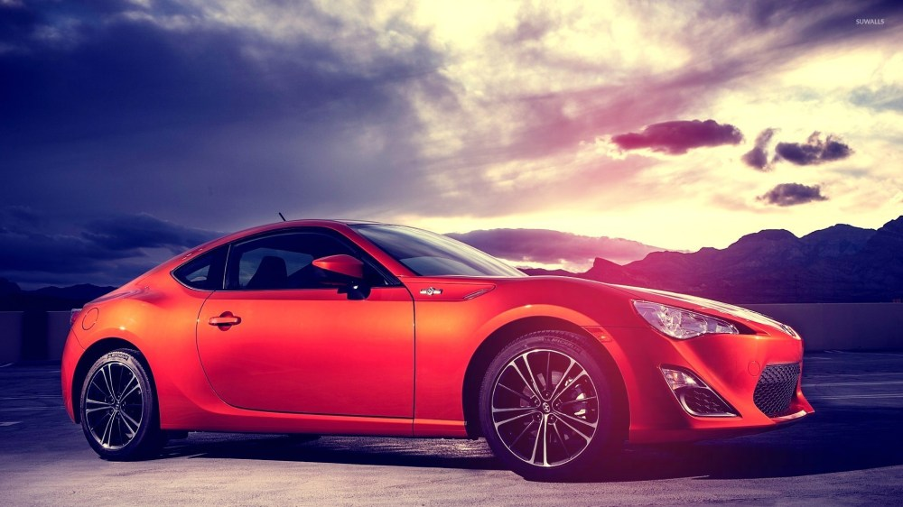 medium resolution of side view of a 2015 scion fr s wallpaper