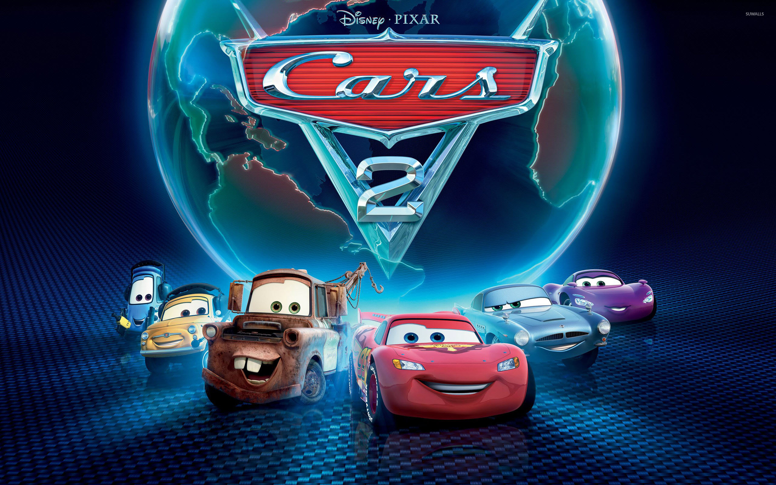 How to add an animated wallpaper for your android mobile phone. Cars 2 2 Wallpaper Cartoon Wallpapers 7128