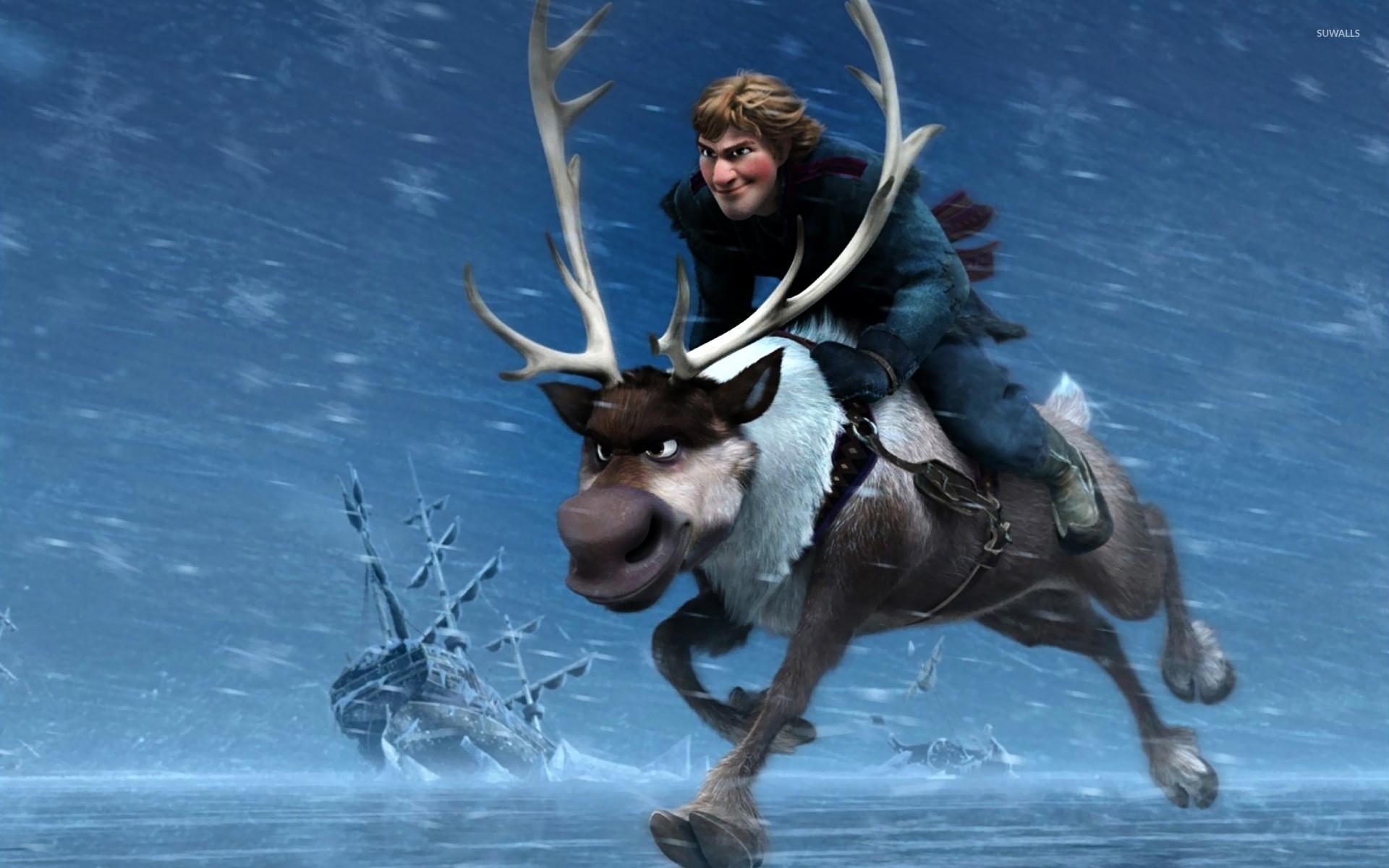 Kristoff And Sven Frozen Wallpaper Cartoon Wallpapers 23148