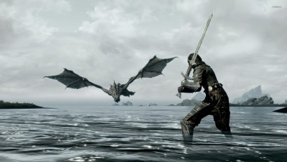Image result for fighting a dragon