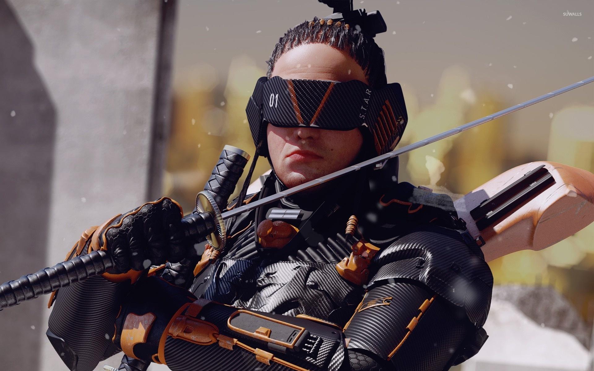 Warrior with swords in Metal Gear Rising: Revengeance wallpaper - Game wallpapers - #53881