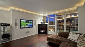 fireplace living interior tv wallpapers couch