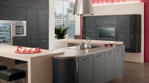 kitchen gray minimalistic lamp