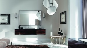mirror bedroom chandelier interior